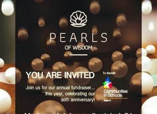 'Pearls of Wisdom' in celebration of CIS's 30th anniversary fundraiser