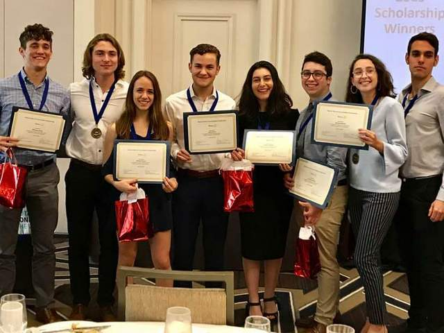 Coral Gables Rotary awards $29,000 in scholarships to CGHS students
