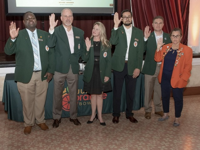 New Jr. Orange Bowl president inducted at board installation