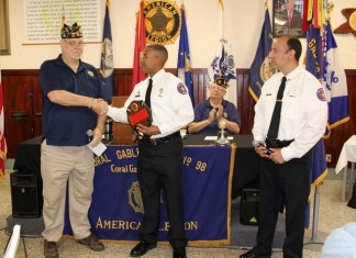 Coral Gables Post 98 celebrates American Legion's Centennial