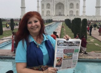 Palmetto Bay News travels to the Taj Mahal