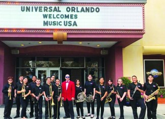Miami Christian School Band takes 1st Place at Music USA