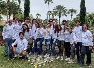 PTS students recognized as 'Outstanding' at 2019 Florida State Spanish Conference