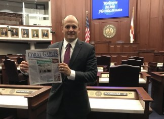 Coral Gables News goes to Tallahassee