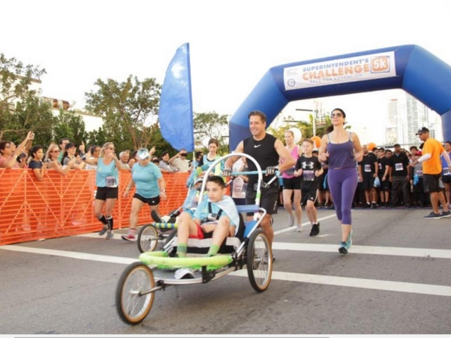 Support for education shown at Superintendent's 5K Challenge