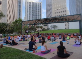 Baptist Health continues sponsorship of free yoga classes at Bayfront Park