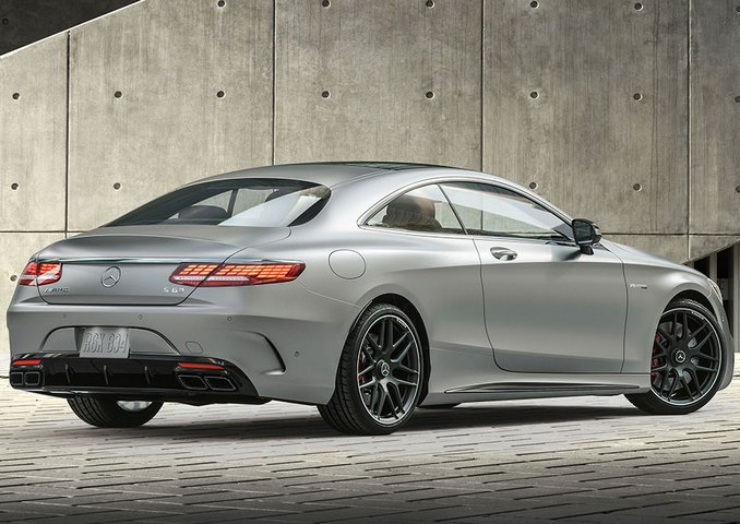 Mercedes-Benz AMG S 63 coupe is the king of the road