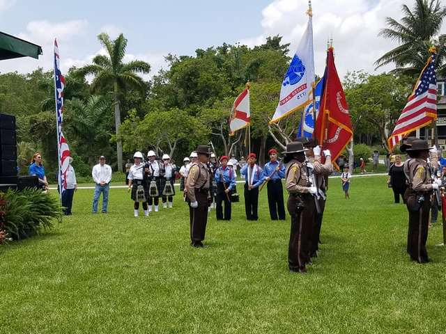 Village marks Memorial Day with Deering Estate event