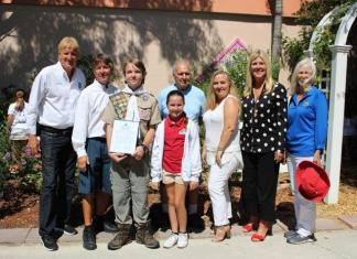 Eagle Scout projects benefit Coral Reef Elementary School