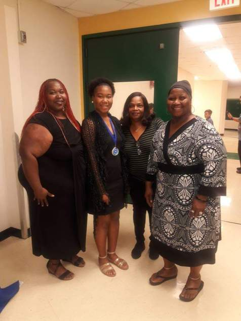 It takes a village to raise a daughter successfully