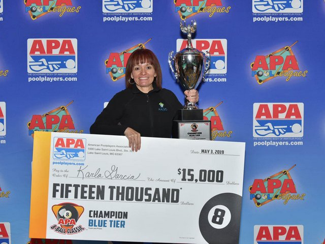 Kendall Woman wins National Pool Championship in Vegas