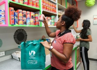 MDC Student Food Pantries get big boost with donation