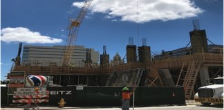 Construction update for city's new Public Safety Building