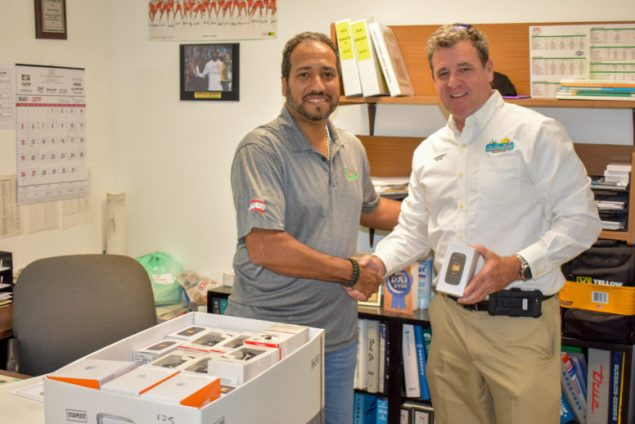 Town donates cell phones to benefit military members