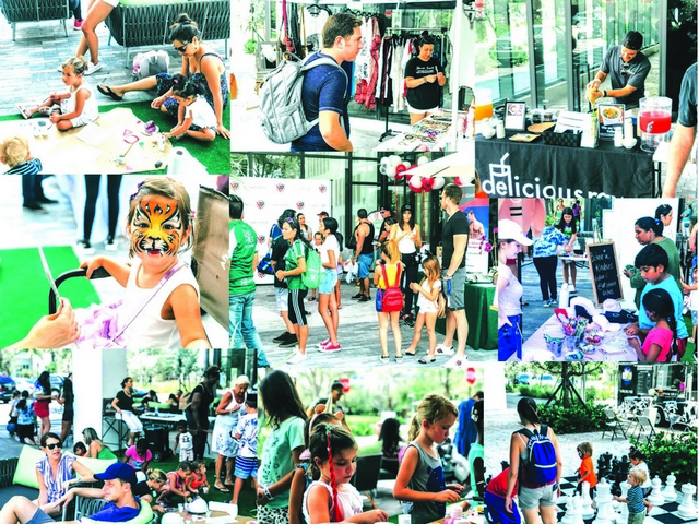 Aventura ParkSquare kicks off June with Summer Fun Day