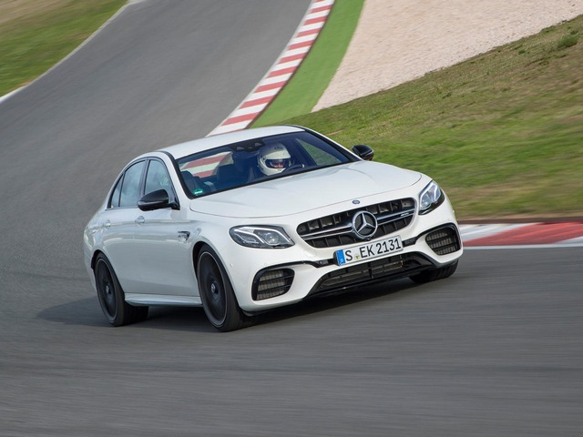 The AMG E63 S Sedan will take your breath away