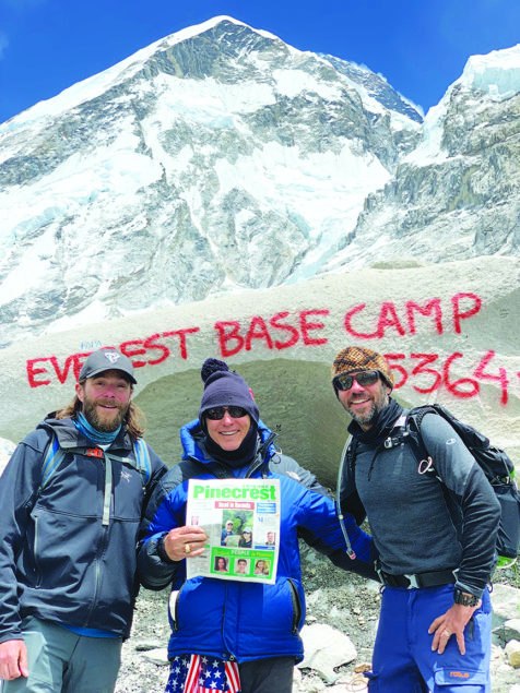Read on Mt. Everest