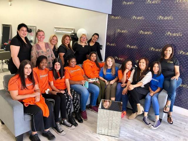 Easterseals students receive makeovers before graduation