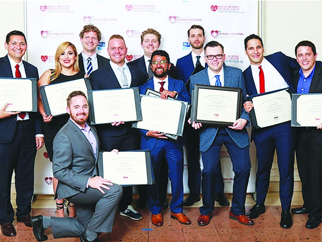 Medical and surgical graduates from Kendall Regional become the next generation of doctors