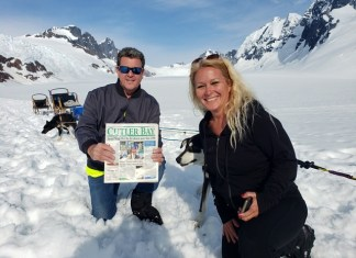 Cutler Bay mayor takes his hometown news to Alaska