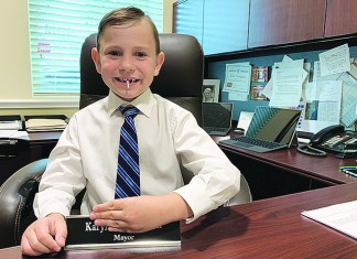 Palmetto Bay's Mini-Mayor for the Day