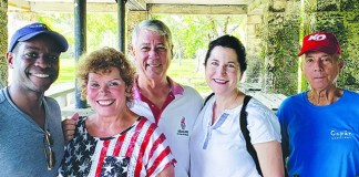 Gables Woman's Club helps Gilded Lilies raise funds for Easterseals
