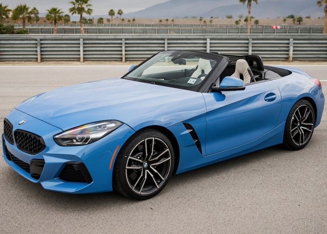 BMW Z4 sDrive30i is a comfy, roadtrip-worthy cruiser