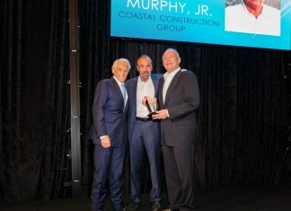 Coastal's Tom Murphy Jr. honored with Lifetime Achievement Award