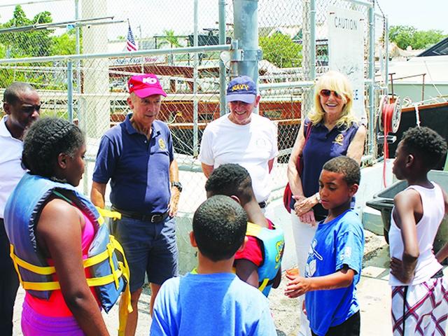 Rotarians send kids to Shake-A-Leg camp