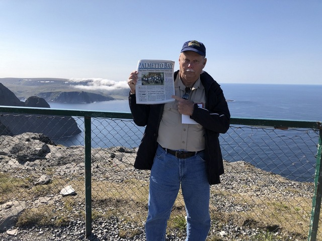 News from home goes to North Cape, Norway