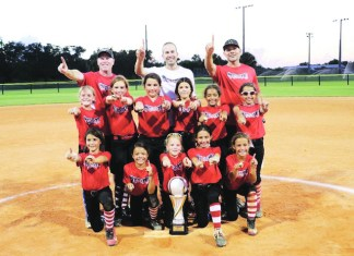 Miami Stingrays 10U Black win state championship