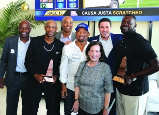 "12 |12 Aventura and Gulfstream Park host football champions who ""give back"""