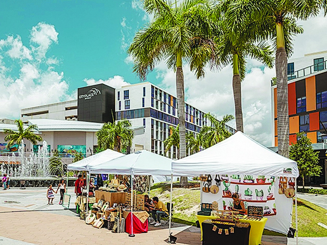 Stroll and shop at CityPlace Doral's monthly 'Bazaar Under the Palms'