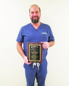 Palmetto General Hospital Names Physician of the Month