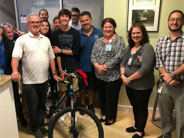 Village replaces bike stolen from counselor in training