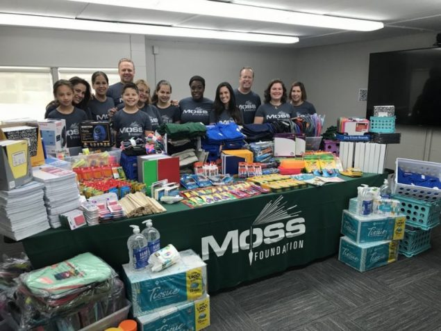 Moss Foundation's 'Back to School Drive' raises over $47,000 for S. Fla. students