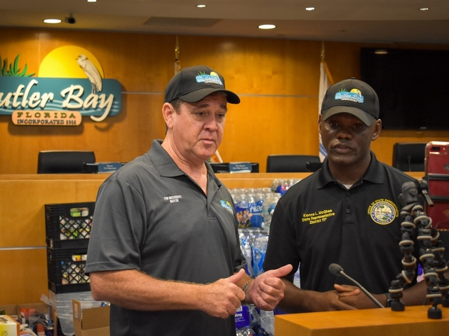 Town pitches in to gather supplies for the Bahamas
