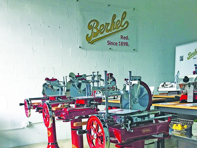 New Berkel showroom invites guests to step inside the world of iconic Italian slicer brand