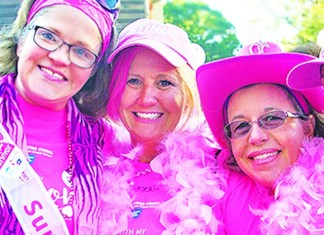 American Cancer Society 'Making Strides Against Breast Cancer' walk steps off October 26