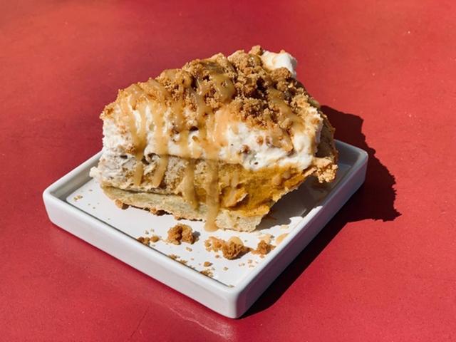 Pumpkin Pie and Pumpkin Cheesecake Fireman Derek's choices for October