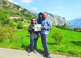 Read at Lake Garda