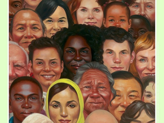 2019 Miami Book Fair poster created by artist Kadir Nelson