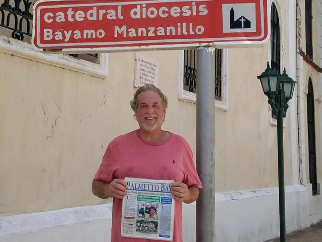 Palmetto Bay News is read in Bayamo, Cuba