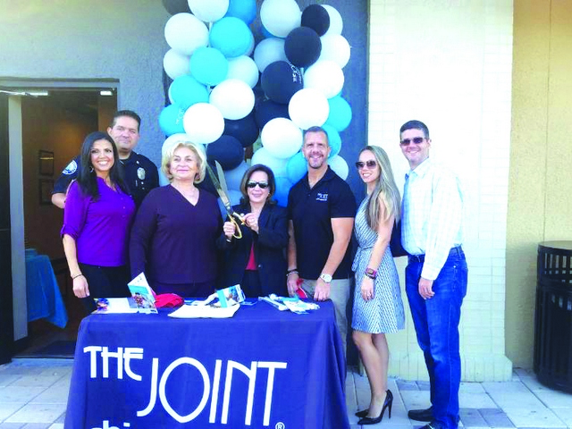 The Joint Chiropractic -Aventura celebrates grand opening/ribbon-cutting