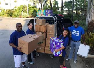 UTD officials take needed supplies to devastated islands in Bahamas