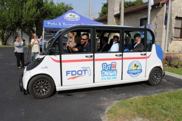 Village, Freebee and FDOT partner for safety campaign
