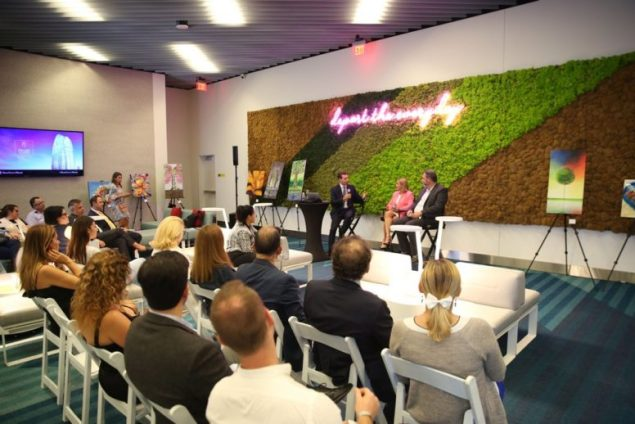 Okan Tower hosts event for Miami's top brokers
