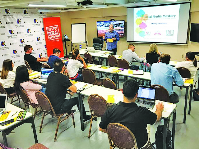 Doral Chamber offers a practical course on proven social media strategies