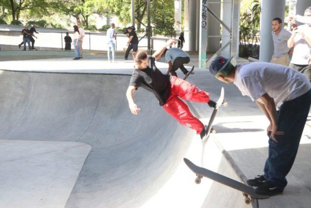 Lot 11 Skate Park opens in former municipal parking lot