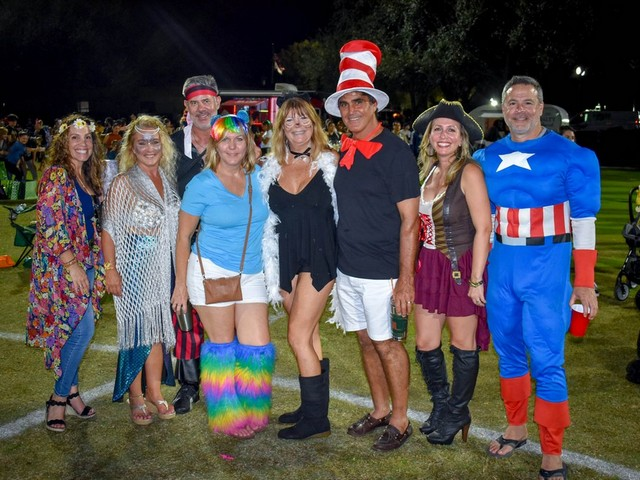 Halloween Event and Golf Cart Parade shows town's creativity